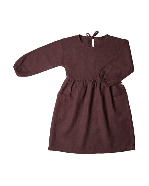 leinen dress kindermode