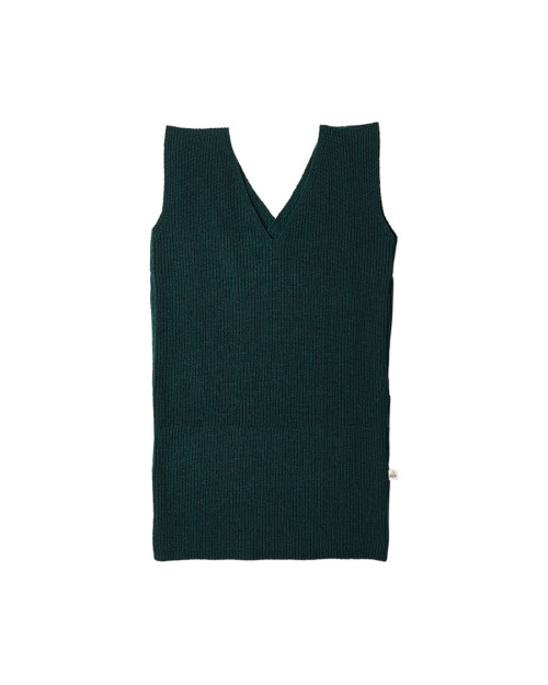 knitdress green