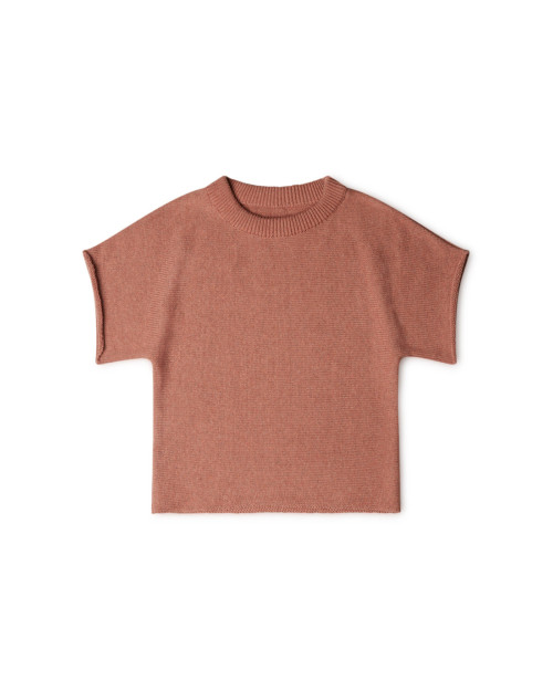 kids knit t-shirt organic cotton