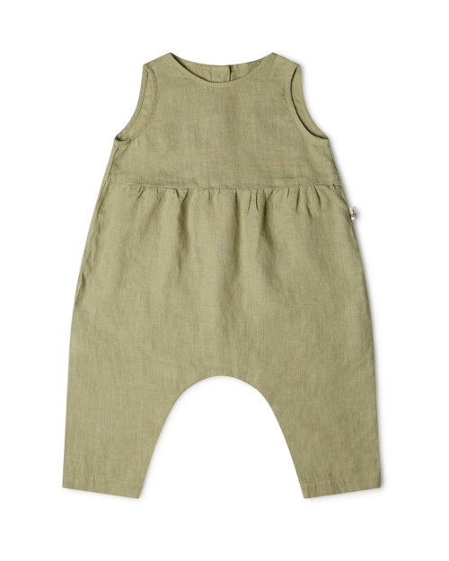 kids jumpsuit linen